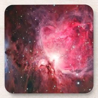 Orion nebula drink coaster