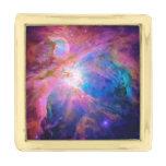 Orion Nebula Gold Finish Lapel Pin