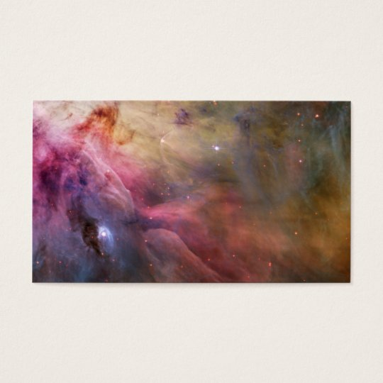 Orion Nebula Hubble Space Business Card