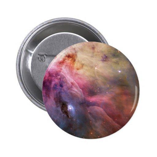 Orion Nebula Hubble Space Button