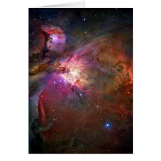 Orion Nebula Hubble Space Card