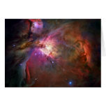 Orion Nebula Hubble Space Greeting Cards