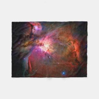 Orion Nebula Hubble Space NASA Fleece Blanket