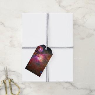 Orion Nebula Hubble Space NASA Gift Tags