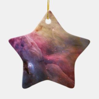 Orion Nebula Hubble Space Christmas Ornament