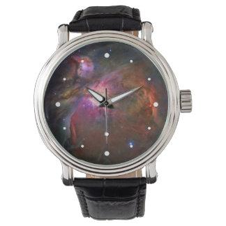 Orion Nebula Hubble Space Wrist Watches