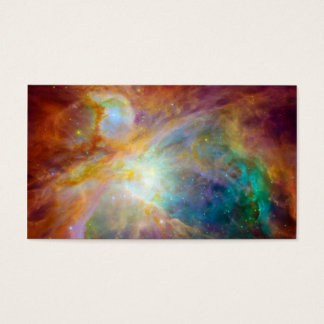Orion Nebula Hubble Spitzer Space Business Card
