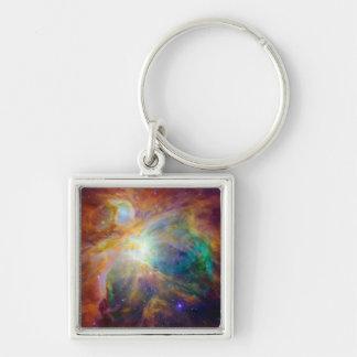 Orion Nebula Hubble Spitzer Space Keychain