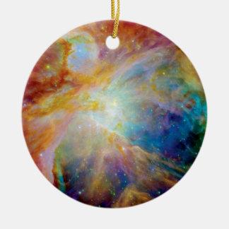 Orion Nebula Hubble Spitzer Telescope Space Photo Ceramic Ornament