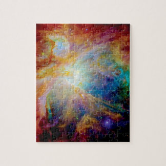 Orion Nebula Hubble Spitzer Telescope Space Photo Jigsaw Puzzle