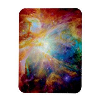 Orion Nebula Hubble Spitzer Telescope Space Photo Magnet