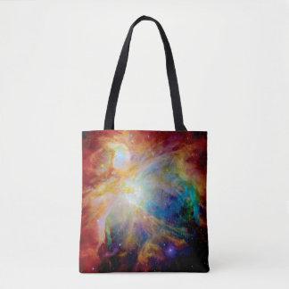 Orion Nebula Hubble Spitzer Telescope Space Photo Tote Bag
