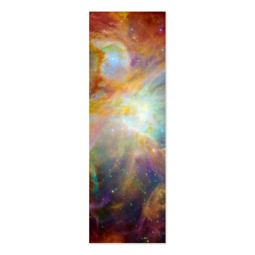 Orion Nebula (Hubble & Spitzer Telescopes) Double-Sided Mini Business Cards (Pack Of 20)