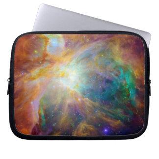 Orion Nebula (Hubble & Spitzer Telescopes) Laptop Sleeve