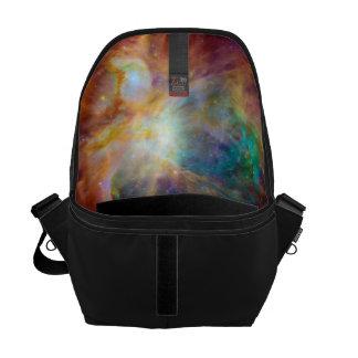 Orion Nebula (Hubble & Spitzer Telescopes) Messenger Bags