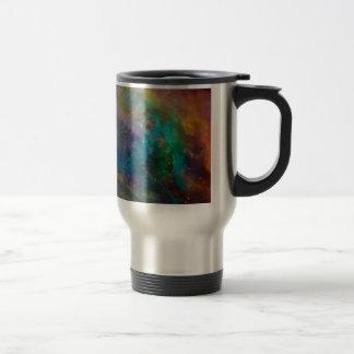 Orion Nebula (Hubble & Spitzer Telescopes) 15 Oz Stainless Steel Travel Mug