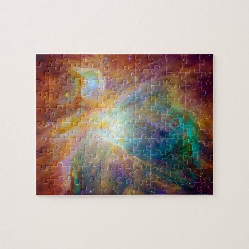 Orion Nebula (Hubble & Spitzer Telescopes) Puzzle