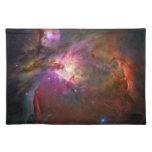 Orion Nebula (Hubble Telescope) Cloth Place Mat