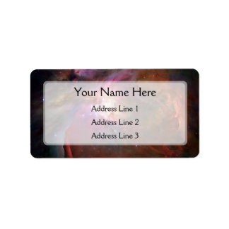 Orion Nebula (Hubble Telescope) Label