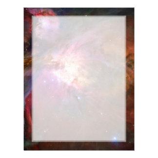 Orion Nebula (Hubble Telescope) Letterhead