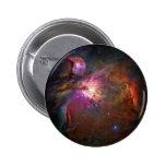 Orion Nebula (Hubble Telescope) Pinback Button