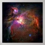 Orion Nebula (Hubble Telescope) Poster