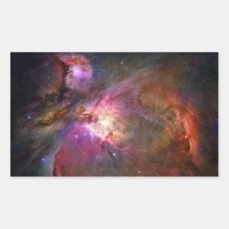 Orion Nebula (Hubble Telescope) Rectangular Sticker