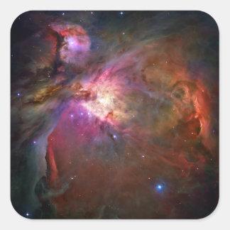Orion Nebula (Hubble Telescope) Square Sticker