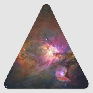 Orion Nebula (Hubble Telescope) Triangle Stickers