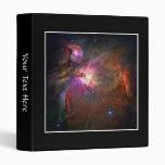 Orion Nebula (Hubble Telescope) Vinyl Binder