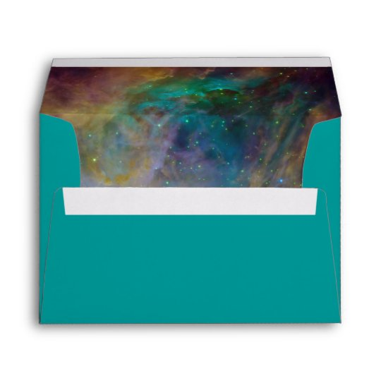 Orion Nebula Image Inside Envelope
