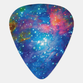 Orion Nebula Infrared Guitar Pick