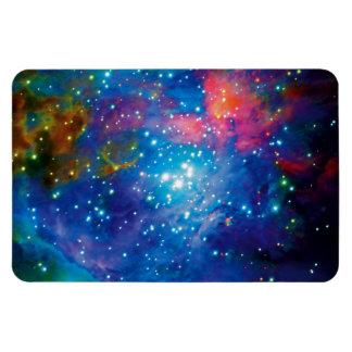 Orion Nebula Infrared Rectangular Photo Magnet