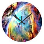 Orion Nebula Large Clock