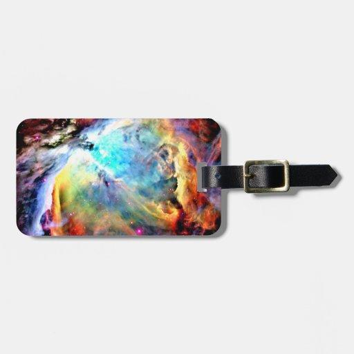 Orion Nebula Bag Tags
