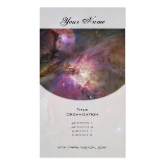 Orion Nebula (M42) Business Card Template
