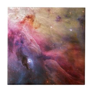 Orion Nebula M42 Ceramic Tile