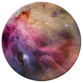 Orion Nebula M42 Porcelain Plate