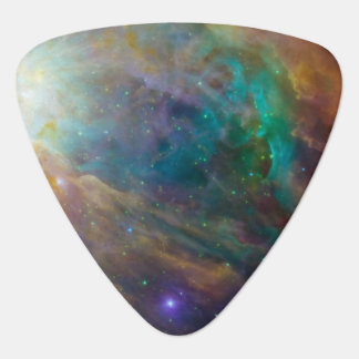 Orion Nebula on Triangle Guitar Pick