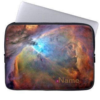 "Orion Nebula Personalized Zippered Laptop Case 13"" Computer Sleeves"