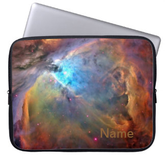 "Orion Nebula Personalized Zippered Laptop Case 15"" Computer Sleeves"