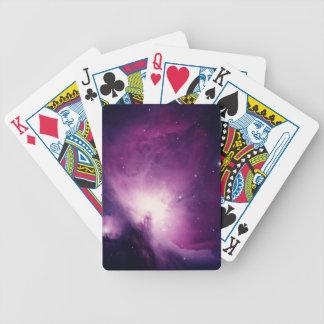 Orion nebula bicycle card decks