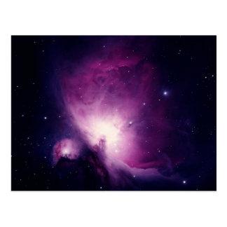 Orion nebula post cards