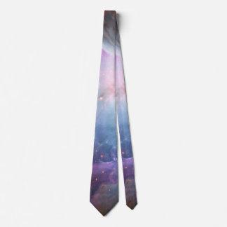 Orion Nebula Purple Astronomy Space Tie