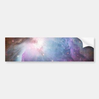 Orion Nebula Purple Space Car Bumper Sticker