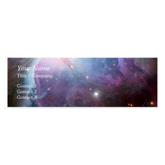 Orion Nebula Purple Space Business Card Templates