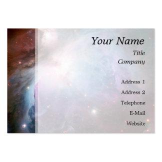 Orion Nebula Purple Space Business Card
