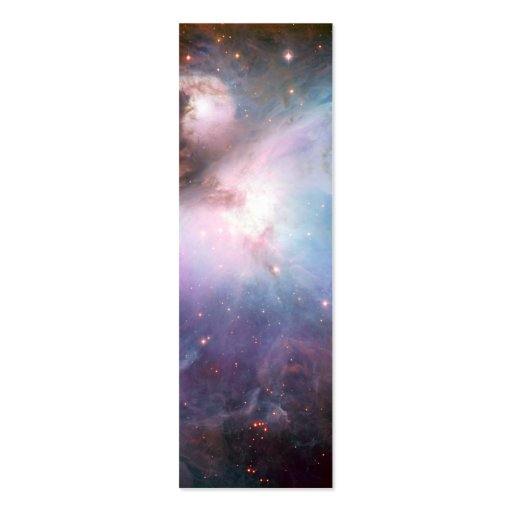 Orion Nebula Purple Space Double-Sided Mini Business Cards (Pack Of 20)