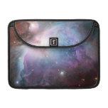 Orion Nebula Purple Space MacBook Pro Sleeves