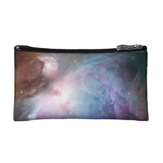 Orion Nebula Purple Space Makeup Bag